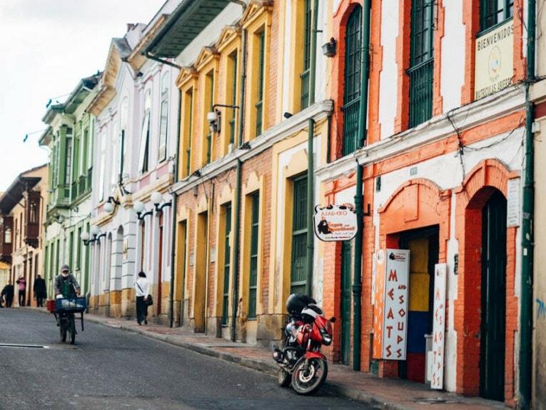 La Candelaria, quartier historique de Bogota