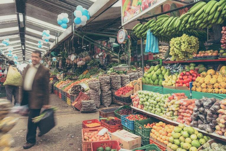 Bogota et ses marchés, visites insolite en Colombie