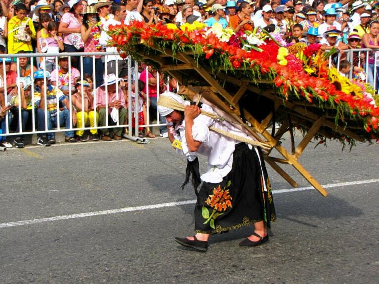Participer à la Fête des fleurs à Medellin