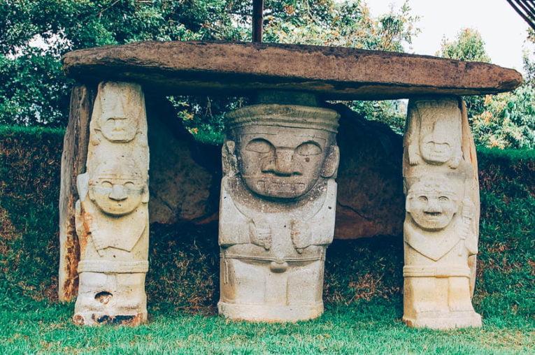Parc archéologique San Agustin en Colombie