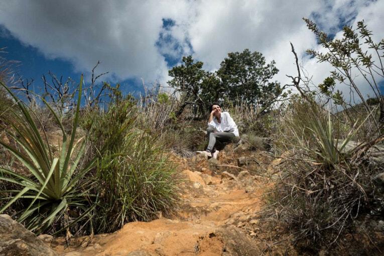 balade sur la montagne à villa de leyva voyage en Colombie