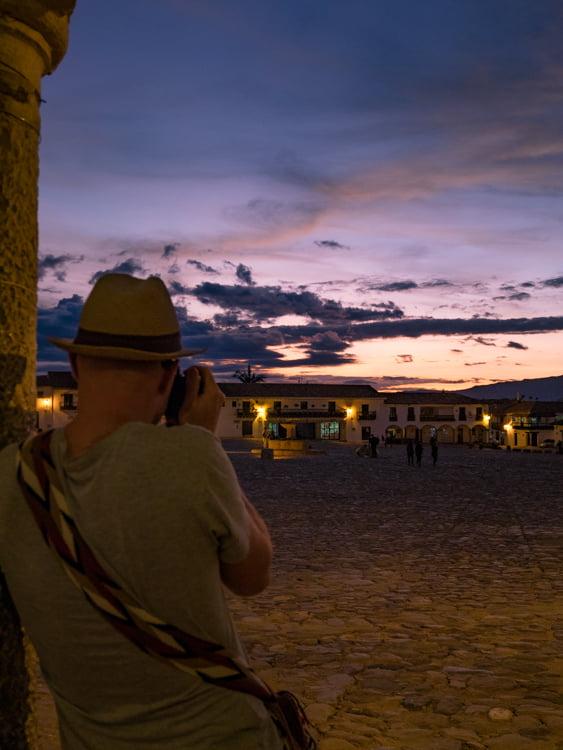 place de villa de leyva voyage en Colombie