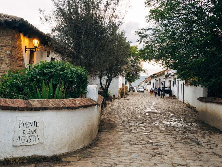 pont de san agustin à villa de leyva voyage en Colombie