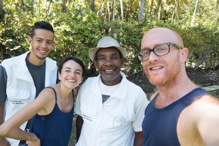 groupe GIHA tourisme communautaire a Necocli en Colombie