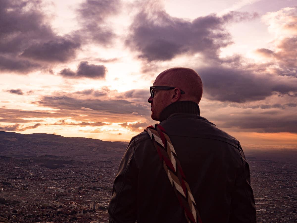 mon voyage en colombie au monserrate