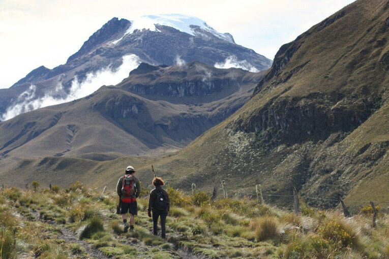 volcan tolima Trek au parc los nevados randonnée colombie