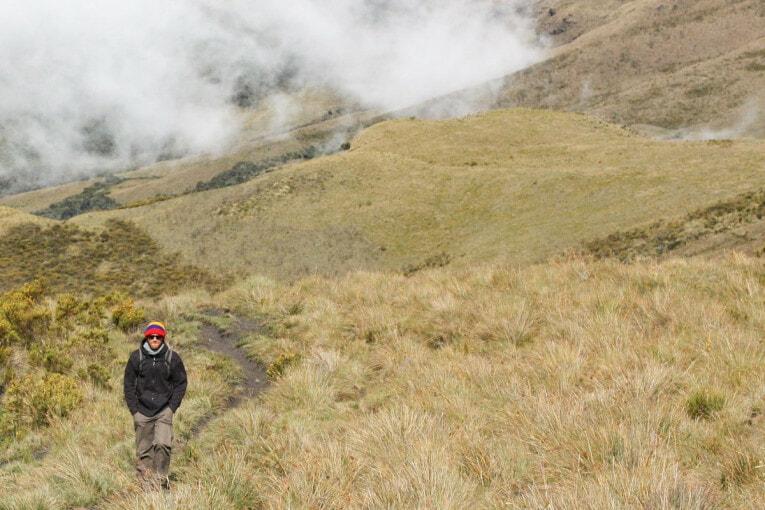 Trek au parc los nevados randonnée colombie