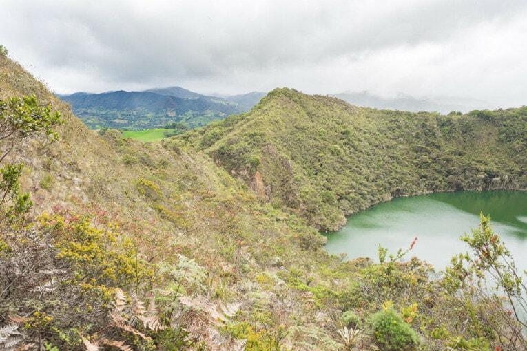visiter la lagune de Guatavita
