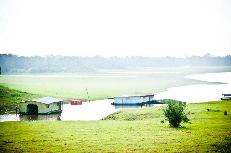 Lago Tarapoto à Puerto Nariño en Amazonie colombienne