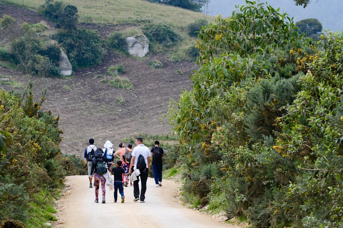 balades écologiques pour tous autour de Bogota