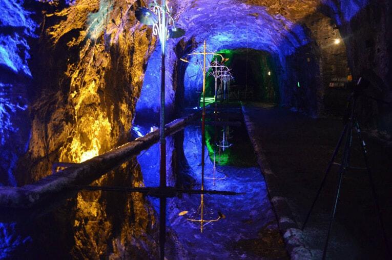 Visiter la Mine de sel de Nemocon autour de Bogota