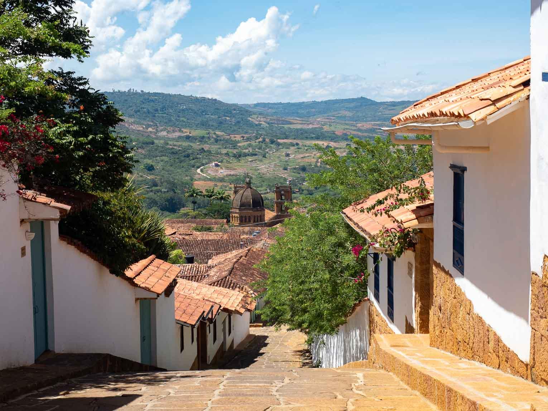Barichara village patrimoine du Santander en Colombie