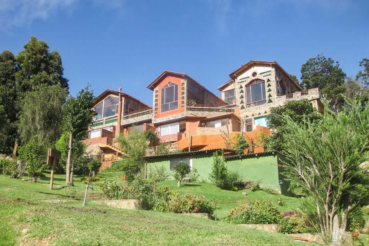 Hotel Arcoiris hébergement Villa de Leyva voyage Colombie