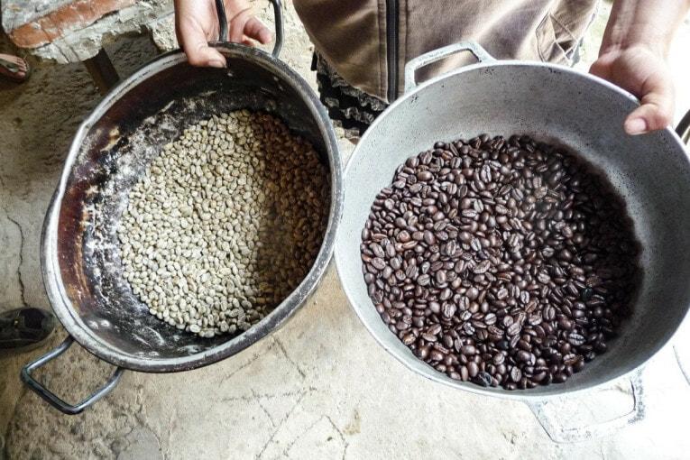 ramener du café d'un voyage en colombie