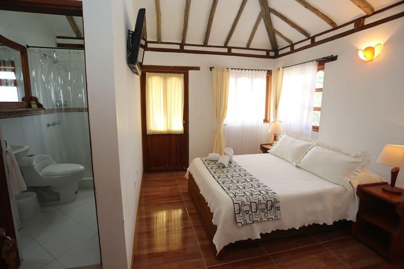 hotel villa los saenz villa de leyva colombie