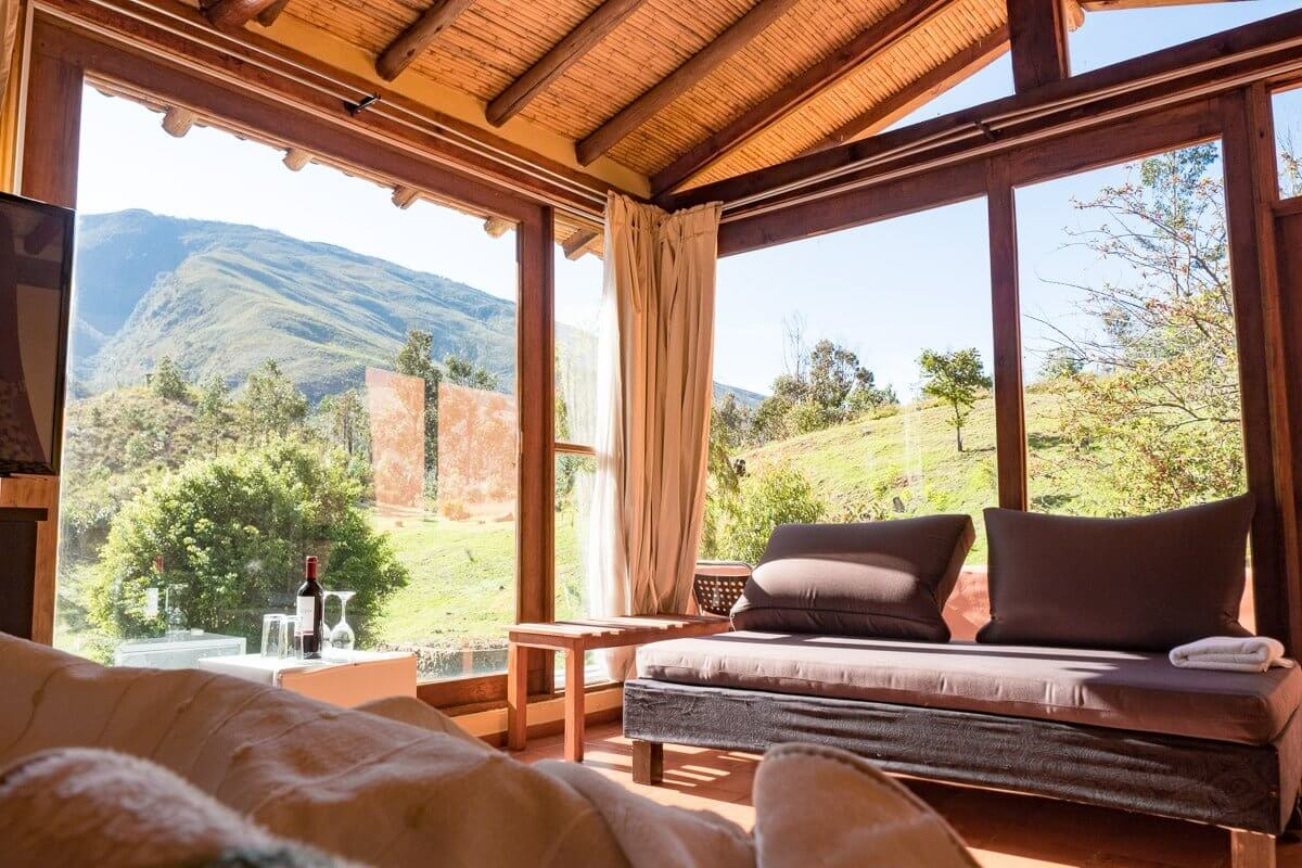 notre sélection d'hébergements, hotel et hostal dans la région des andes, bogota, medellin, san agustin...
