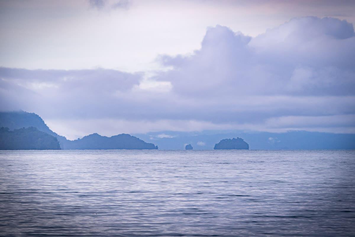 utria, parc naturel sur la côte pacifique de colombie