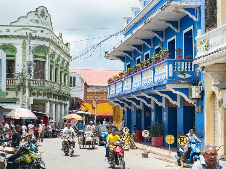 centre historique de Lorica village patrimoine des Caraïbes en Colombie