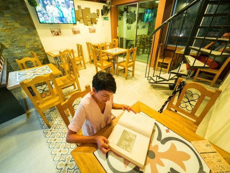 restaurant lorica village patrimoine de colombie