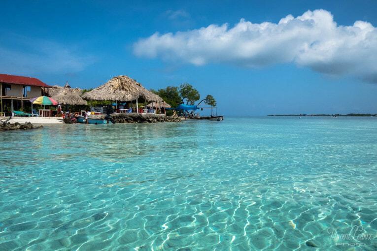 isla mucura archipel san bernardo proche de Cartagena en colombie