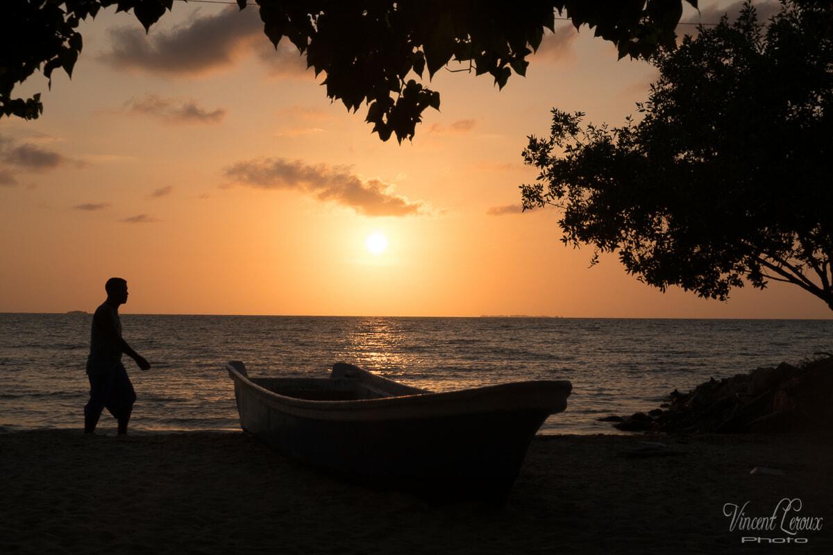 rincon del mar plage de la mer des caraïbes en colombie