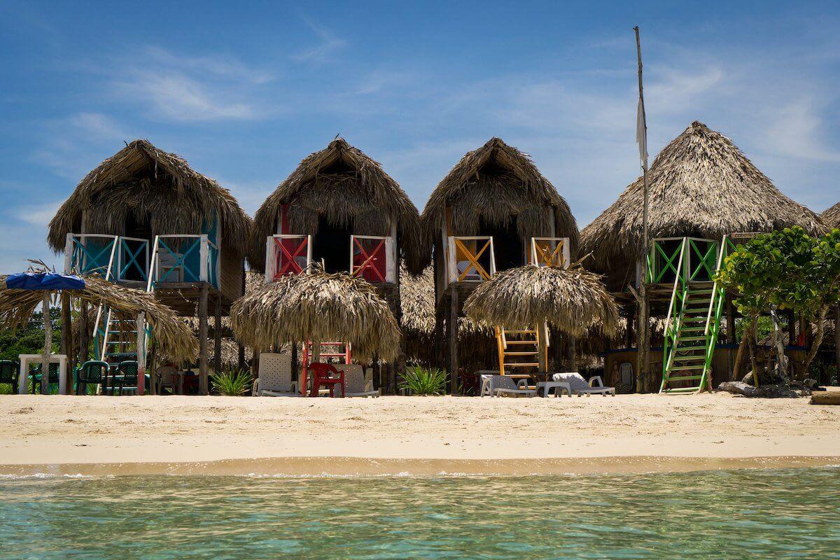 les plages où se baigner à Carthagène en Colombie