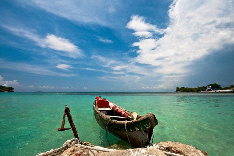 Islas del Rosario à Carthagène des indes en Colombie