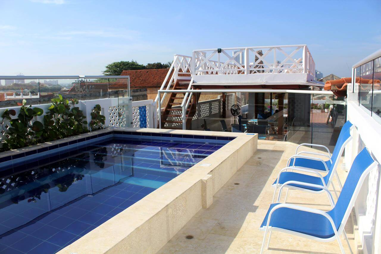 hotel à getsemani, casa villa colonial, hébergement à cartagena