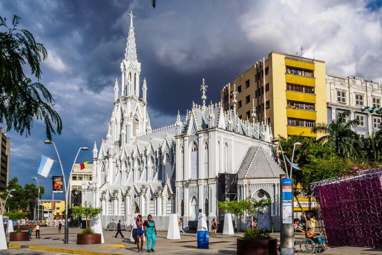 Visiter Cali et son Eglise Ermita dans le centre historique