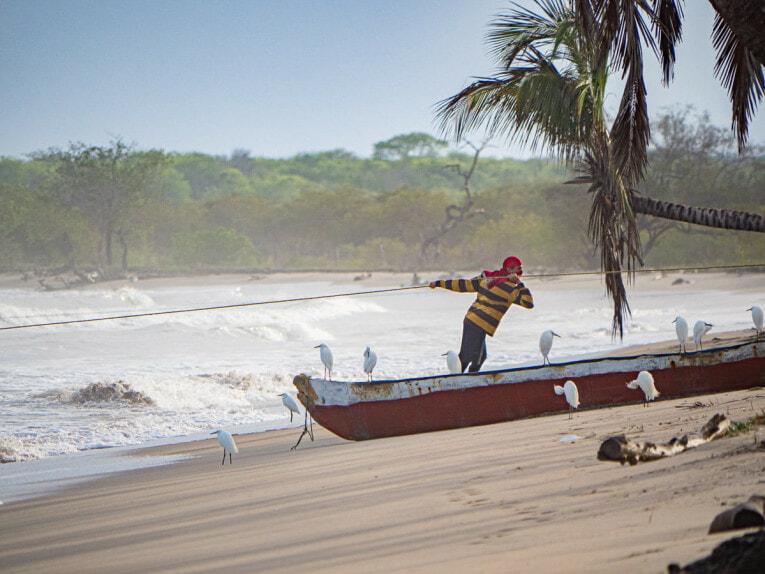 rencontrer les pêcheurs à punta de los remedios, la guajira en colombie