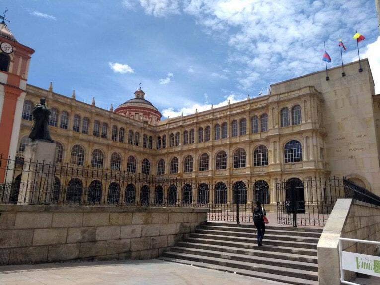 visite guidée historique à bogota