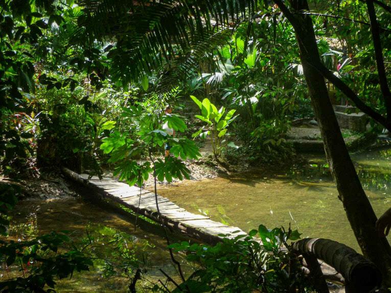 El Cielo, rivière autour de Capurgana en Colombie