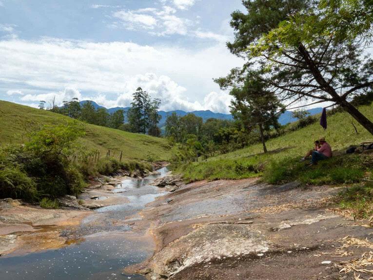 visiter guadalupe dans le santander en voiture lors d'un autotour en colombie