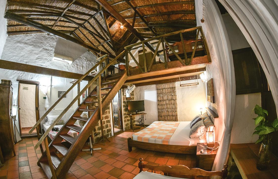 Hotel chill out à Giron, Santander en Colombie