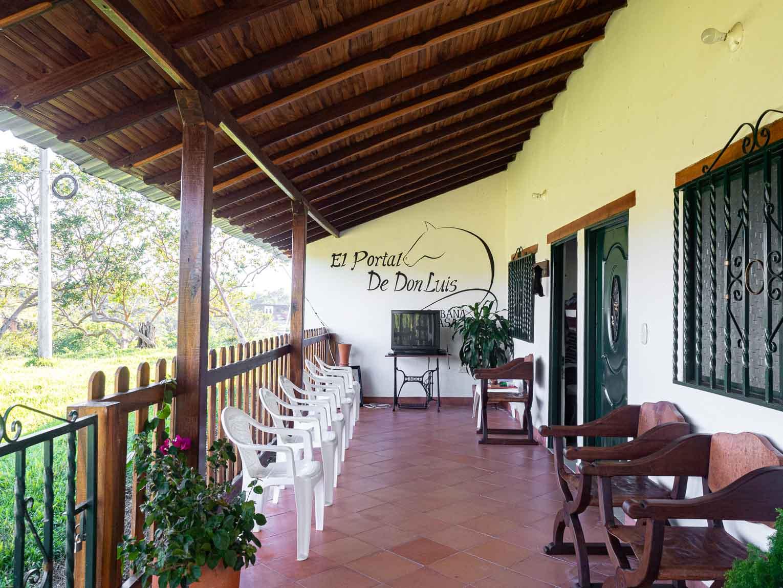 hotel portal de don Luis à Guadalupe, Santander en Colombie