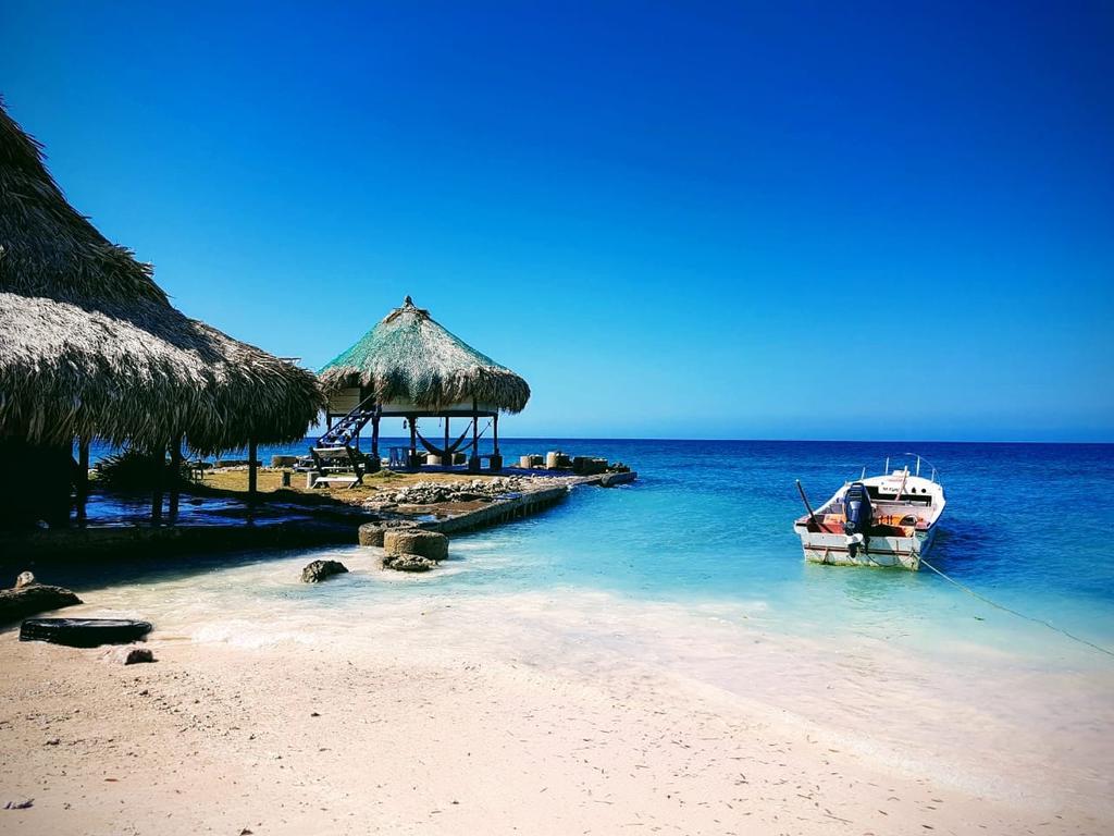 Dalhandia, hotel à Isla Mucura en Colombie