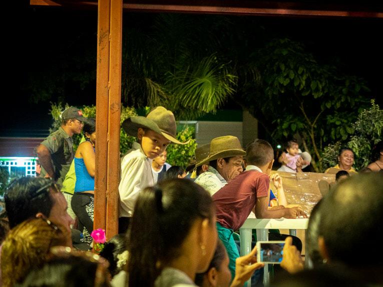 Joropo, danse traditionnelle à San Luis de Palenque, Casanare en Colombie