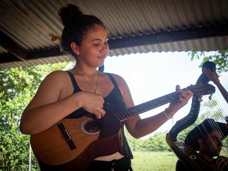 Musique llanera à Trinidad, Casanare en Colombie