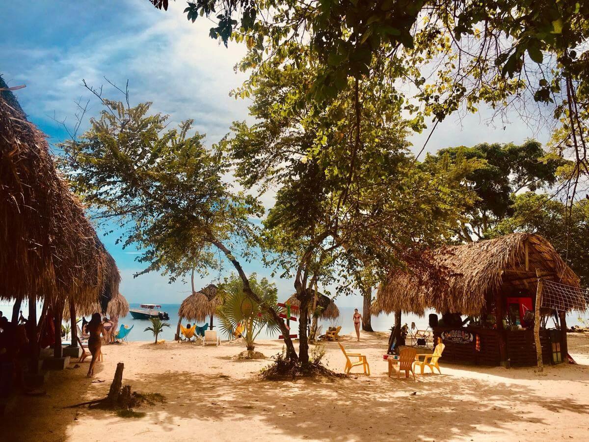 Media Luna Hostal à Isla Baru, Cartagena