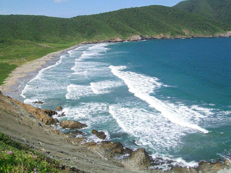 Siete Olas, plage du secteur Palangana, Neguanje dans le Parc Tayrona en Colombie