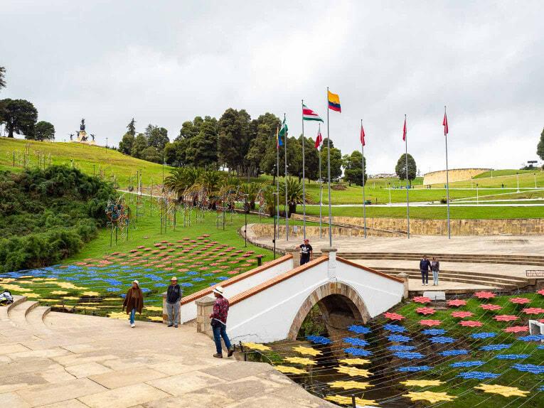 Puente Boyaca en Colombie