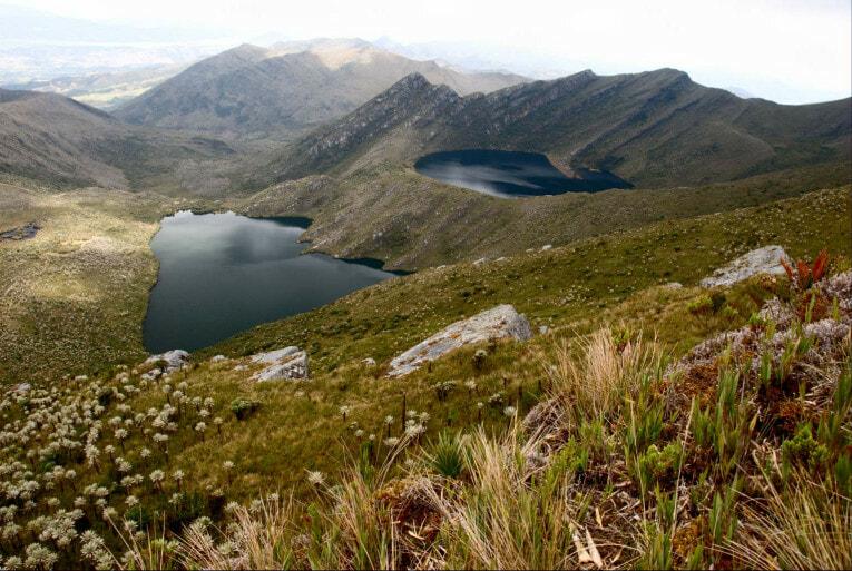Paramo de Chingaza, trek proche de Bogota