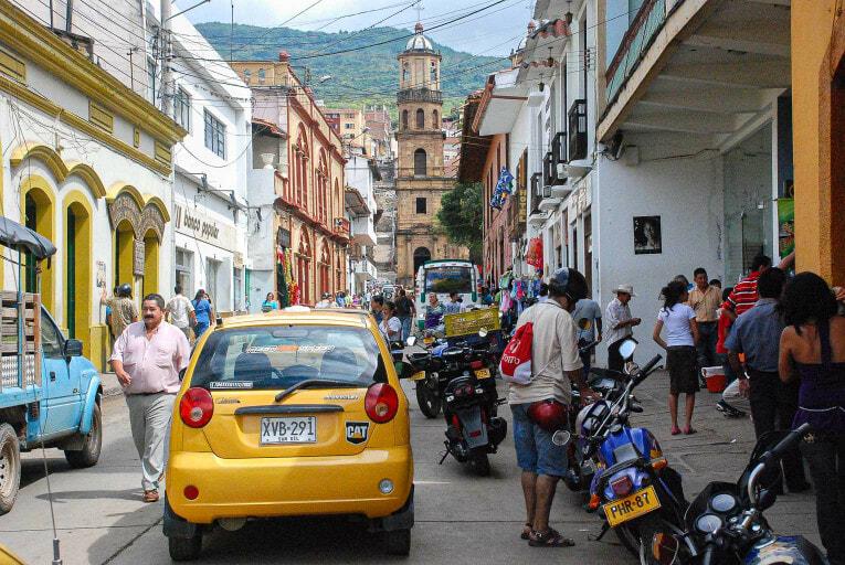 Visiter San Gil, capitale touristique du Santander en Colombie
