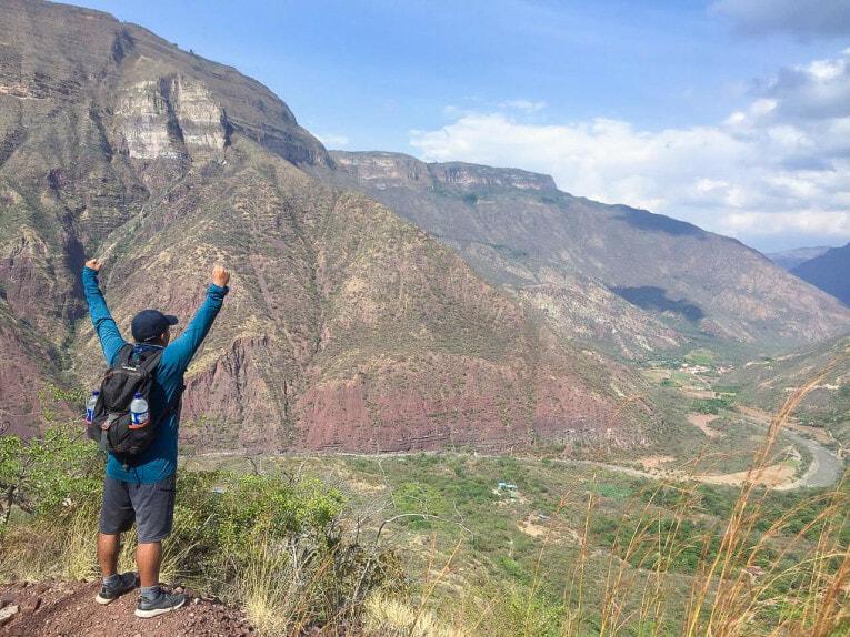 Trek au Canyon de Chicamocha en Colombie