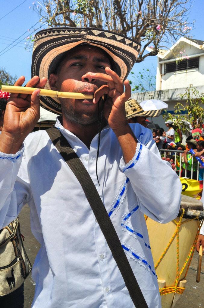 Caña de millo, instrument de la Cumbia colombienne