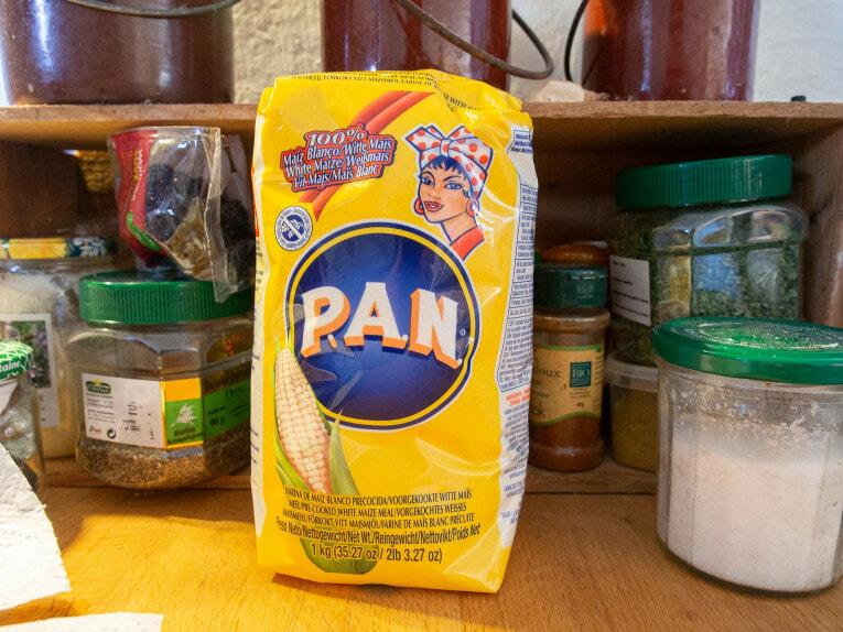 Farine PAN pour faire des arepas colombiennes