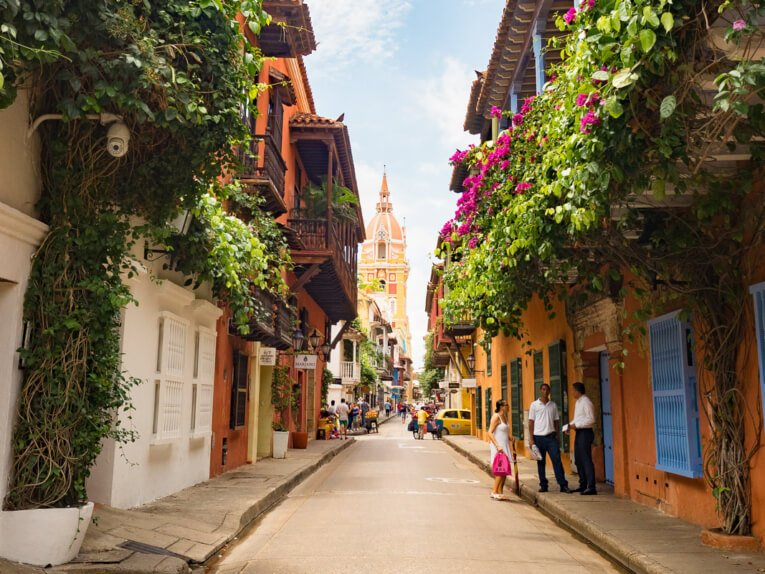 Visiter Carthagène des indes en Colombie