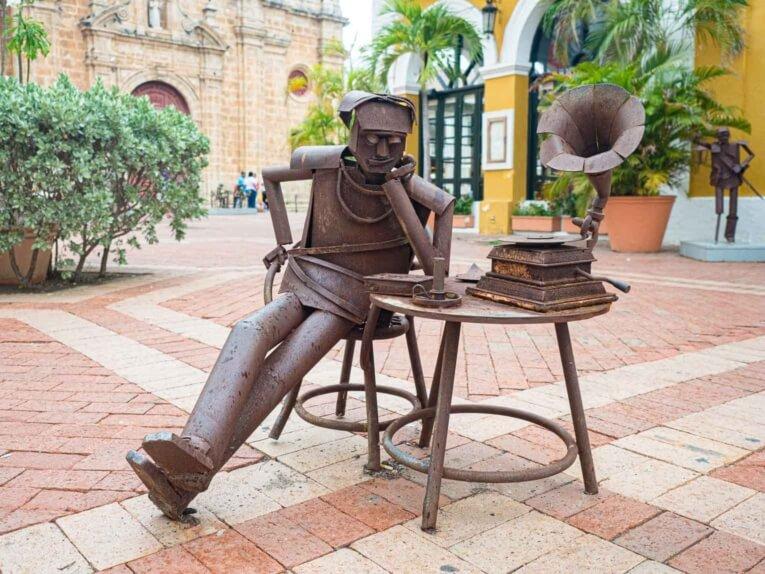 Visiter les plus belles places de Carthagène des indes en Colombie
