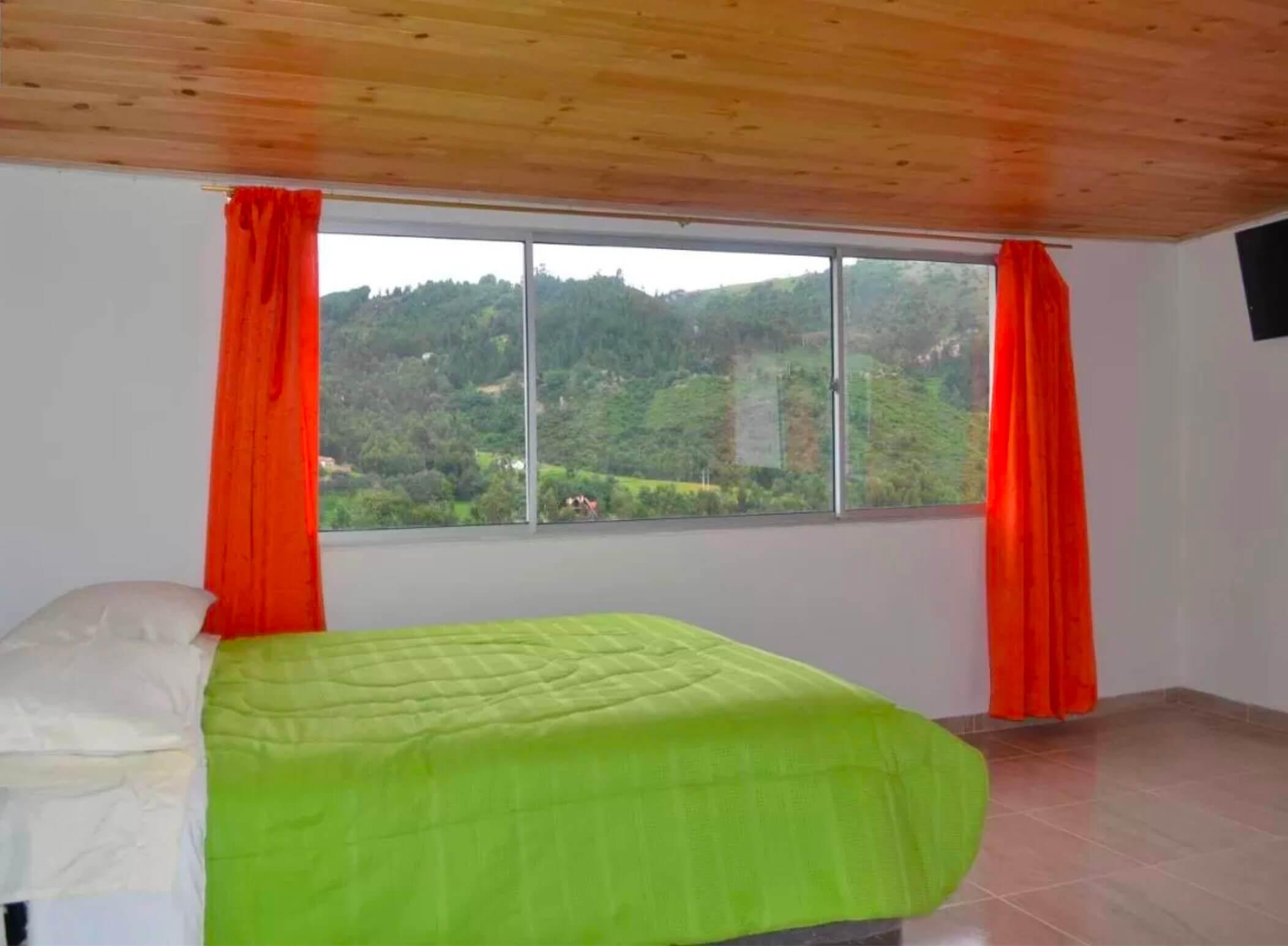 Hotel à Mongui près du Paramo de Oceta en Colombie