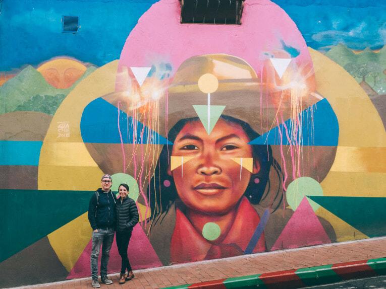 BogotArt Graffiti Tour, visite guidée street art à Bogota